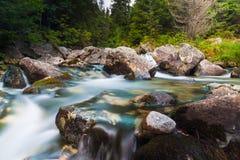 Corriente del agua - río Foto de archivo libre de regalías