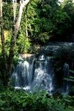 Corriente del latigazo de la cascada abajo Imágenes de archivo libres de regalías