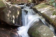 Corriente del parque de estado de Stone Mountain Foto de archivo