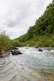 Corriente del río Fotografía de archivo