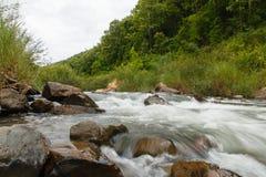 Corriente del río Foto de archivo