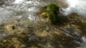 Corriente del río almacen de video