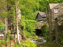 Corriente en Ambleside en el distrito inglés del lago Imagen de archivo libre de regalías