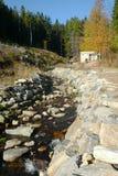 Corriente en las montañas de Jeseniky, República Checa de la montaña imágenes de archivo libres de regalías