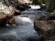 Corriente en montañas, Alpujarra Imagen de archivo libre de regalías