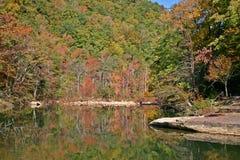 Corriente en otoño Imagen de archivo libre de regalías