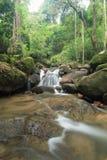 corriente fuerte de la provincia de Chanthaburi de la cascada de Kate, Tailandia Fotografía de archivo