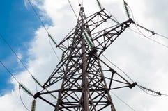 Corriente y electricidad Imagen de archivo