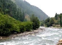 Corrientes del agua de las colinas Foto de archivo