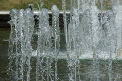 Corrientes del agua en parque Imágenes de archivo libres de regalías