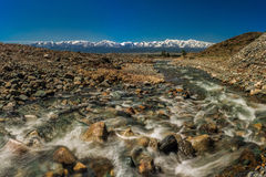 Corrientes del río foto de archivo