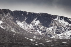 Corries of the Cairngorms in Scotland. Stock Photo