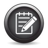 Corrija el botón del icono ilustración del vector