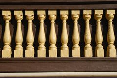 Corrimão de madeira Imagem de Stock