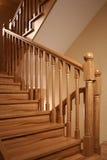 Corrimão de uma escada Fotos de Stock Royalty Free