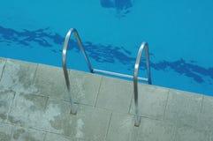 Corrimani per le scale dall'acqua Fotografia Stock Libera da Diritti