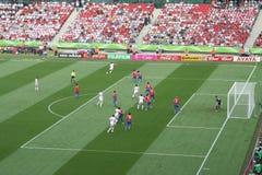 Corrispondenza 2006 di Rica della Polonia-Costa della tazza di mondo della FIFA Fotografia Stock Libera da Diritti