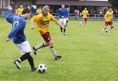 Corrispondenza di calcio Immagini Stock
