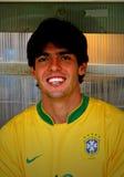 Corrispondenza di calcio amichevole Brasile contro l'Algeria Immagini Stock Libere da Diritti
