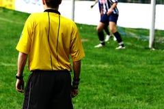 Corrispondenza di gioco del calcio #1 Immagini Stock Libere da Diritti