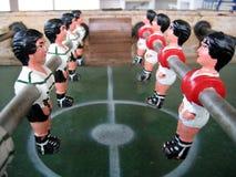 Corrispondenza di gioco del calcio Fotografie Stock