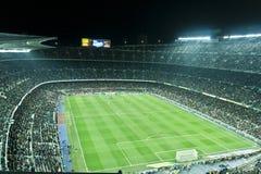 Corrispondenza di gioco del calcio Fotografie Stock Libere da Diritti