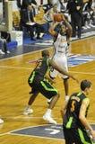 Corrispondenza di pallacanestro, Francia. Fotografie Stock Libere da Diritti