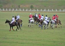 Corrispondenza di polo Fotografie Stock