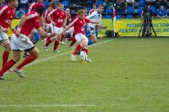 Corrispondenza di rugby Immagine Stock Libera da Diritti