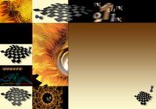 Corrispondenza di scacchi Fotografia Stock