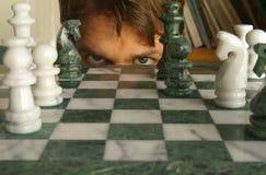Corrispondenza di scacchi Immagine Stock Libera da Diritti