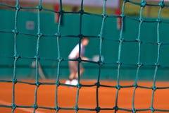 Corrispondenza di tennis Immagine Stock