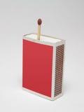 Corrispondenza in scatola di fiammiferi Fotografie Stock