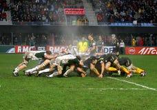 Corrispondenza USAP di rugby della tazza dell'Heineken contro l'Irlandese di Londra Fotografia Stock Libera da Diritti