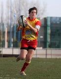 Corrispondenza USAT (Francia) v GETXO (Spai di rugby fotografie stock