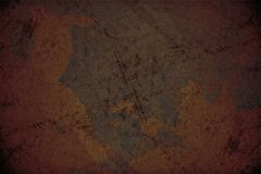 Corroded Background. Corroded Texture. Dirty Corroded Metal Background royalty free illustration