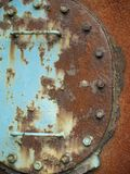 Corroded hatch Royalty Free Stock Image