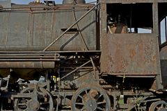 Corroded Locomotive Stock Image