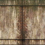Corroded metal background. Old grungy corroded metal plate background royalty free illustration
