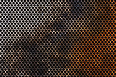 Corroded Metal grid Royalty Free Stock Image