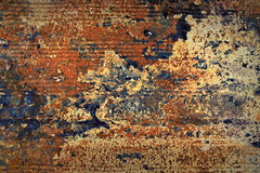 Corroded metal texture. Royalty Free Stock Photos