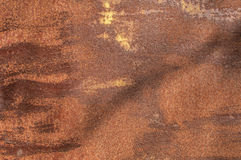 Corroded rusty iron surface Royalty Free Stock Photography
