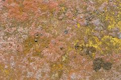 Corroded rusty surface Royalty Free Stock Image