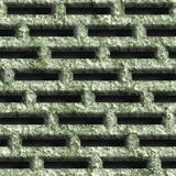 Corroded square vent. Seamless background vector illustration