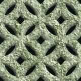 Corroded square vent Royalty Free Stock Image