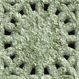 Corroded square vent. Seamless background Royalty Free Stock Photos
