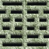 Corroded square vent. Seamless background Stock Images