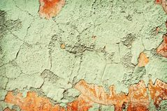 Corroded wall Royalty Free Stock Images