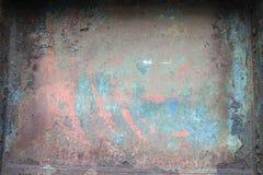 Corrodez le plat de fer dans l'objet dans d'anciennes aciéries dans VÃtkovice, Ostrava photographie stock