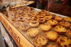 CORROIOS, SEIXAL, ÁREA METROPOLITANA DE SETUBAL, LISBOA, PORTUGAL - EM JANEIRO DE 2018 Feira do chocolate de Corroios Fotos de Stock Royalty Free